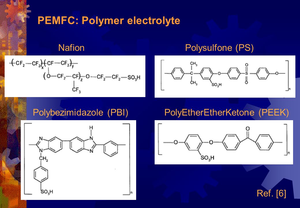 PEMFC: Polymer electrolyte