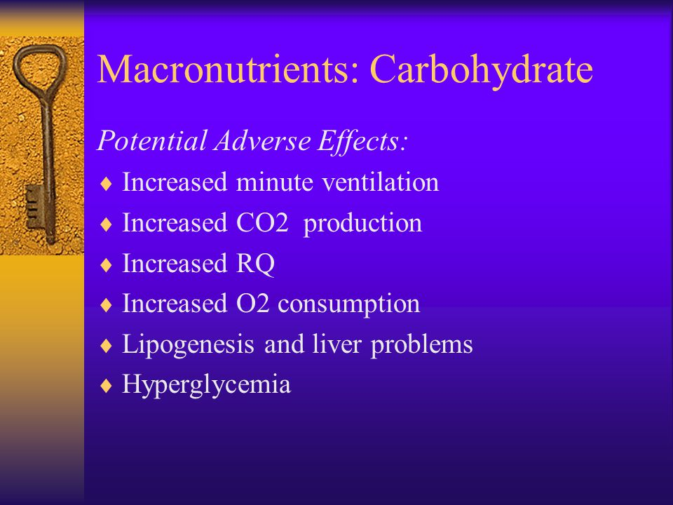Macronutrients: Carbohydrate