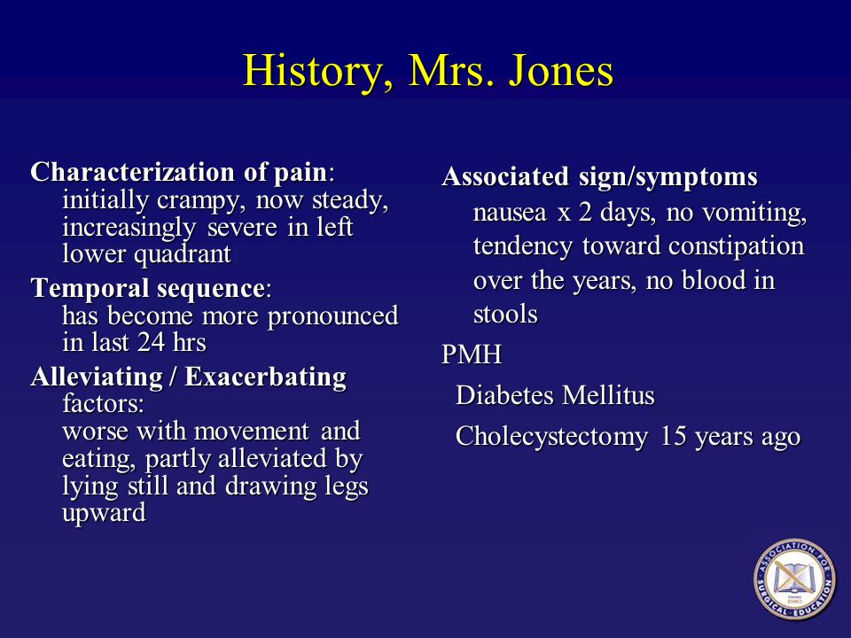 History, Mrs. Jones
