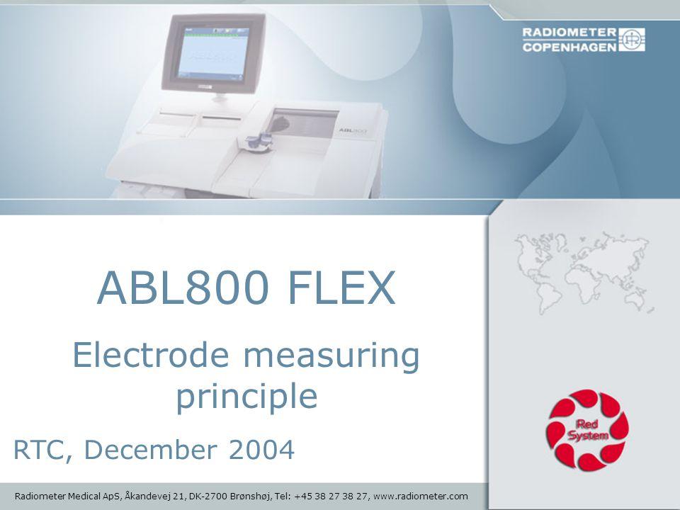 Electrode measuring principle