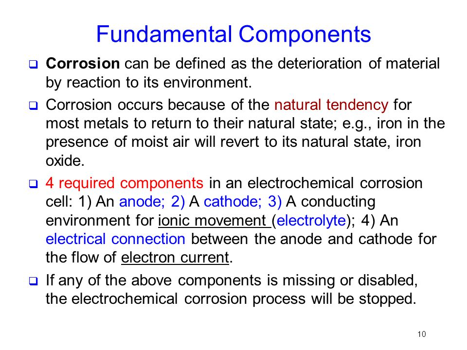 Fundamental Components