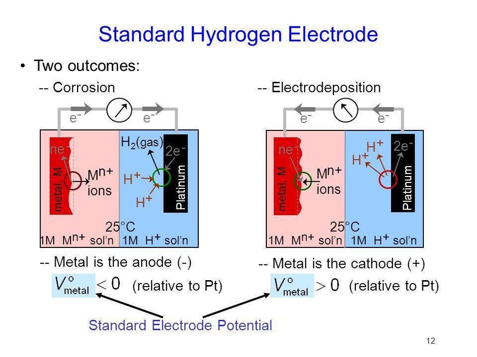 Standard Hydrogen Electrode