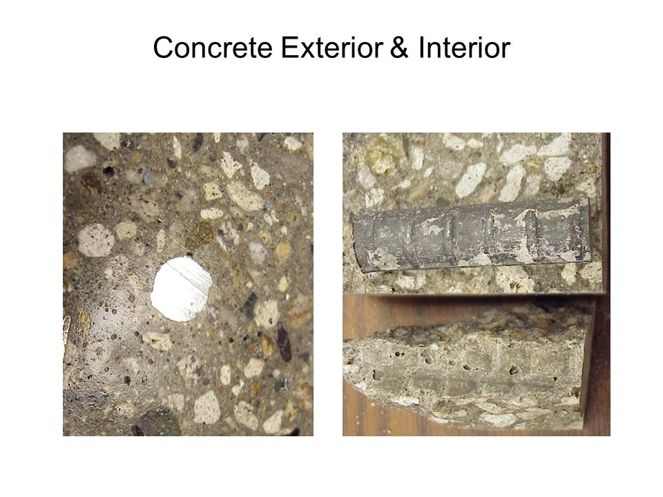 Concrete Exterior & Interior