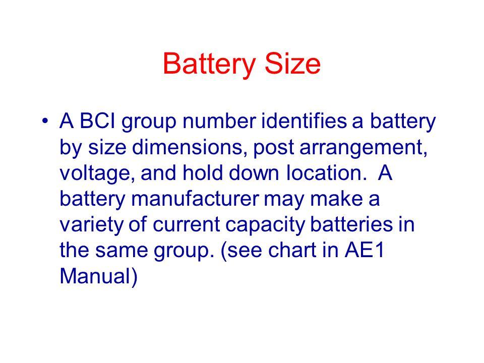 Battery Size