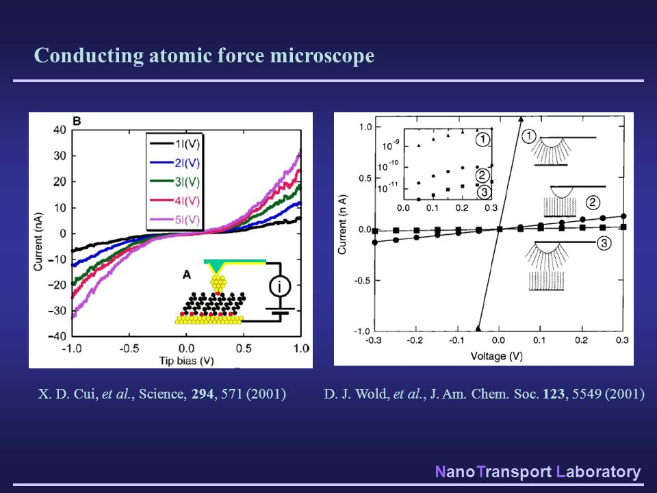 Conducting atomic force microscope