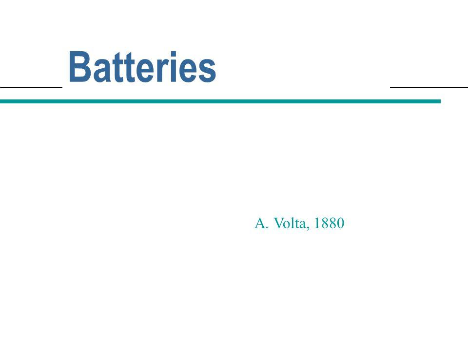 2017/4/11 Batteries A. Volta, 1880