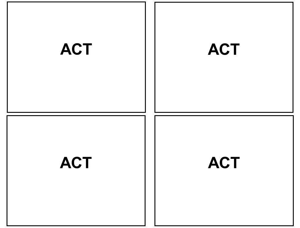 ACT ACT ACT ACT
