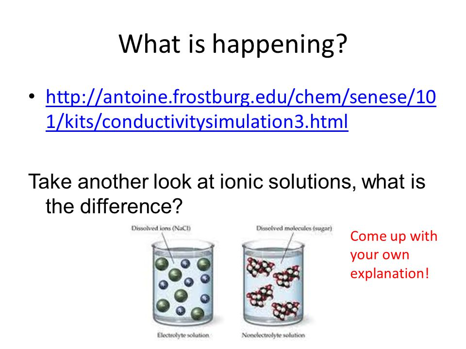 What is happening http://antoine.frostburg.edu/chem/senese/101/kits/conductivitysimulation3.html.