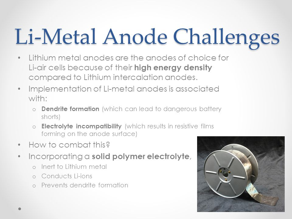 Li-Metal Anode Challenges