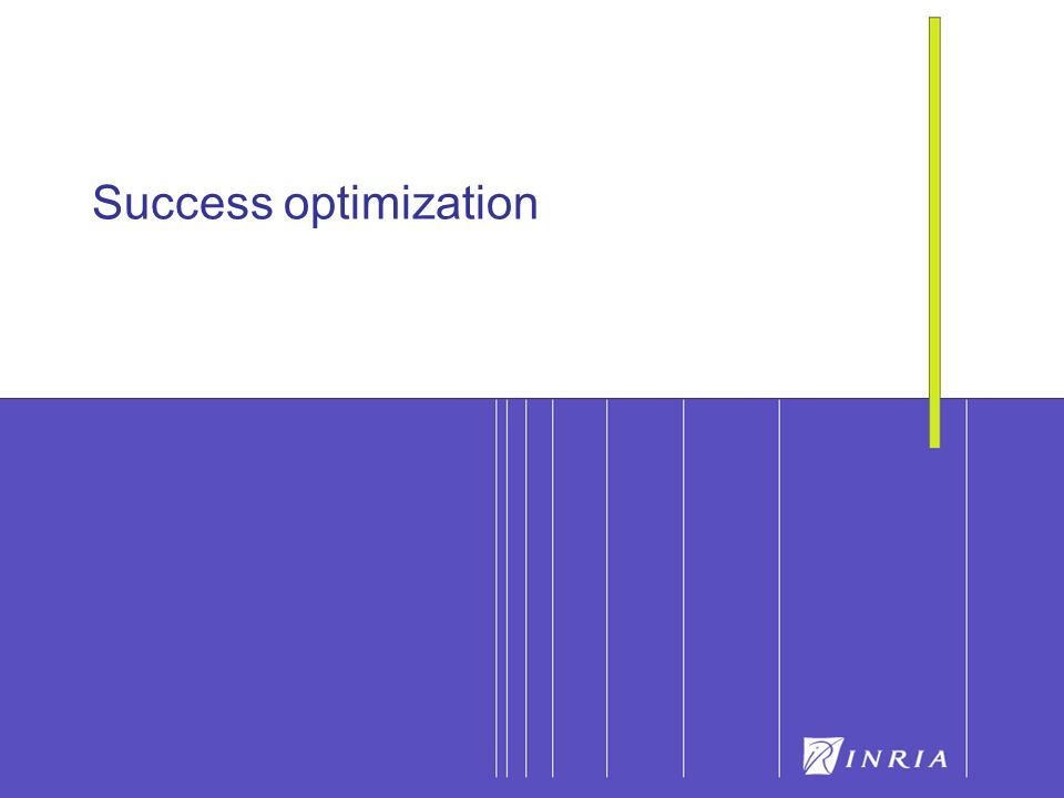 Success optimization
