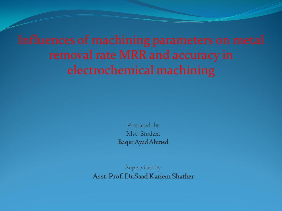 Asst. Prof. Dr.Saad Kariem Shather