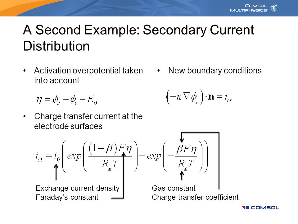 A Second Example: Secondary Current Distribution