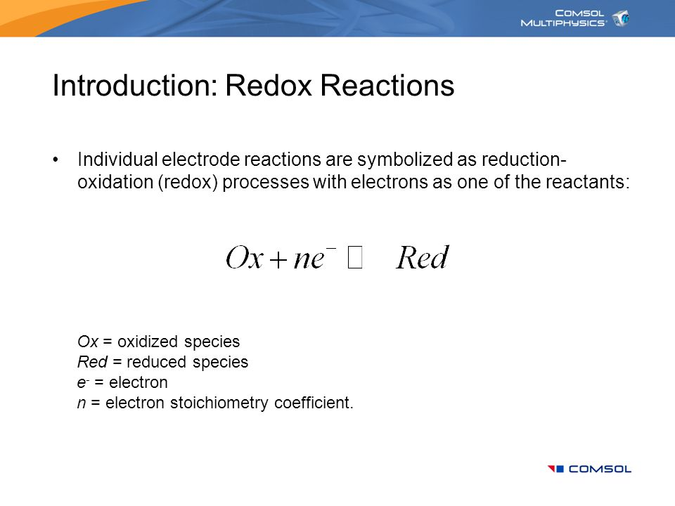 Introduction: Redox Reactions