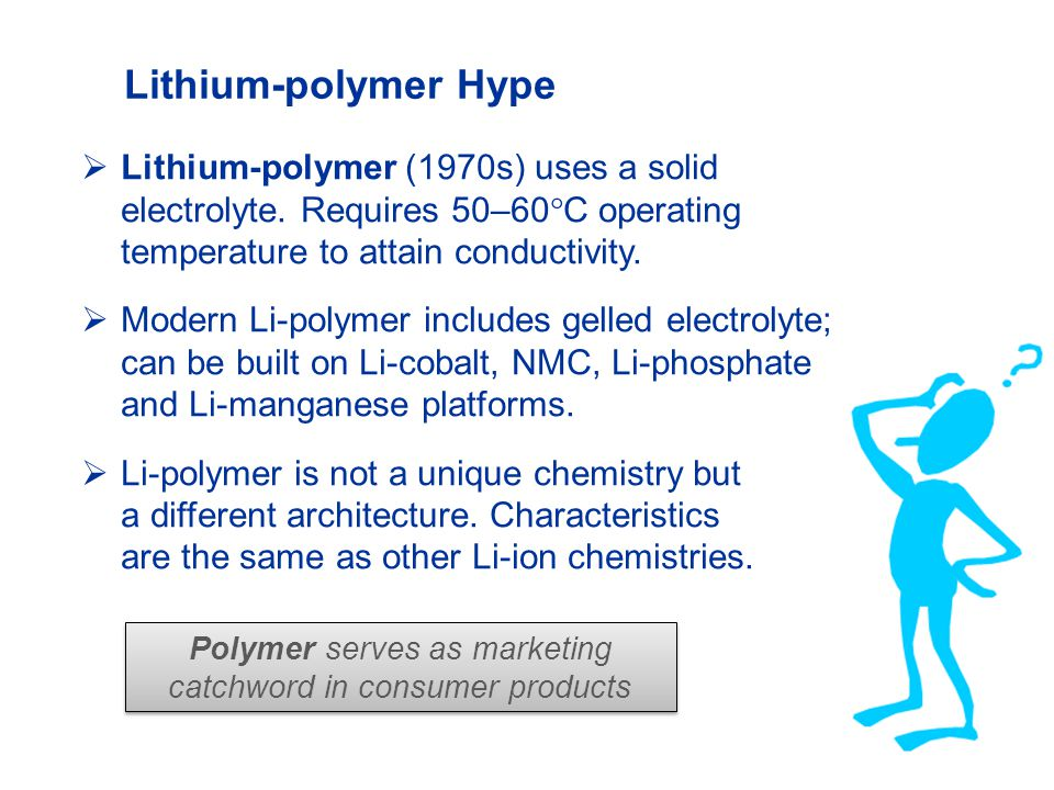 Polymer serves as marketing catchword in consumer products