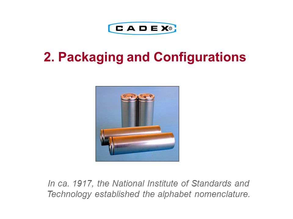 2. Packaging and Configurations