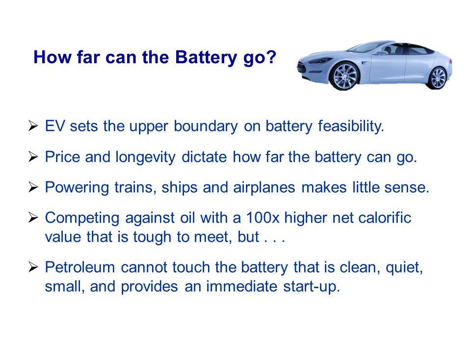 How far can the Battery go