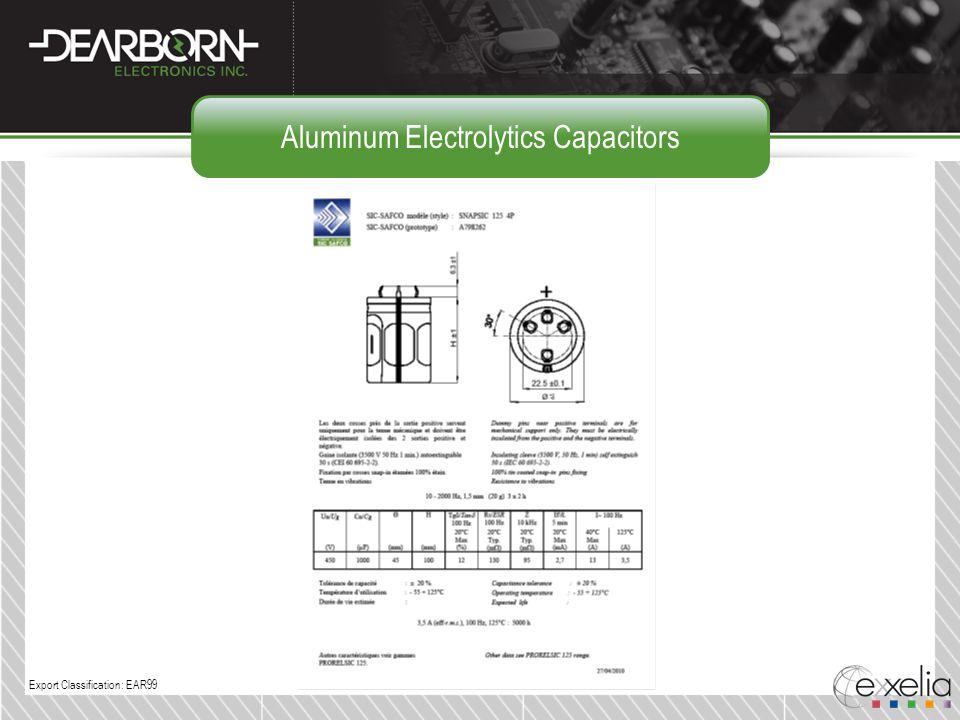 Aluminum Electrolytics Capacitors