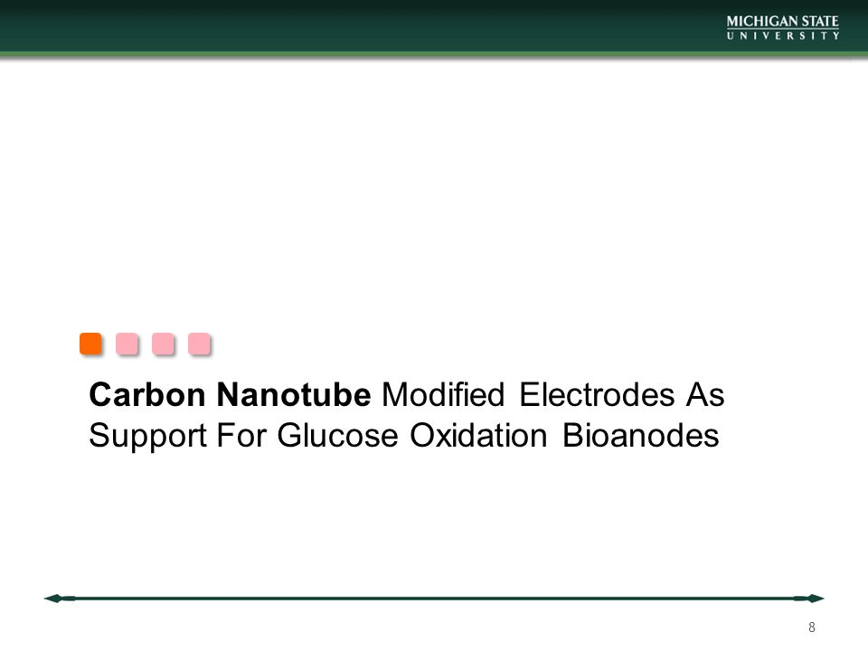 Carbon Nanotube Modified Electrodes As Support For Glucose Oxidation Bioanodes