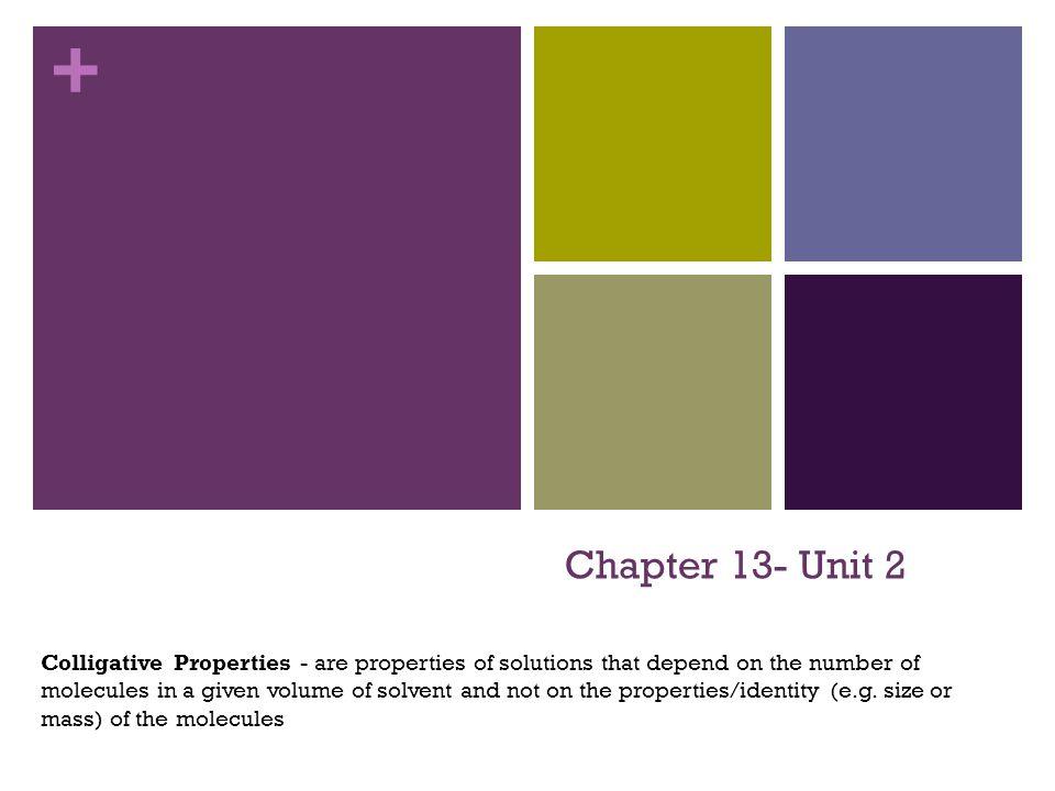 Chapter 13- Unit 2