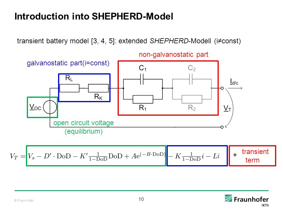 Introduction into SHEPHERD-Model