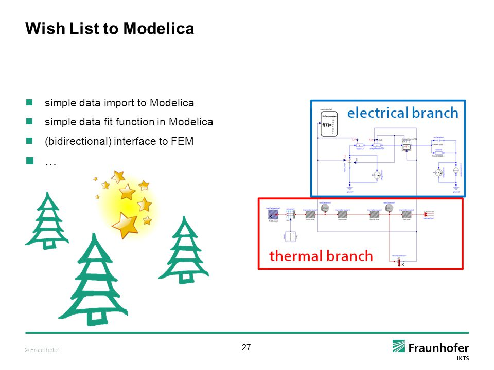 Wish List to Modelica … simple data import to Modelica