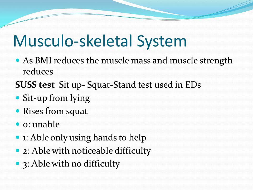 Musculo-skeletal System