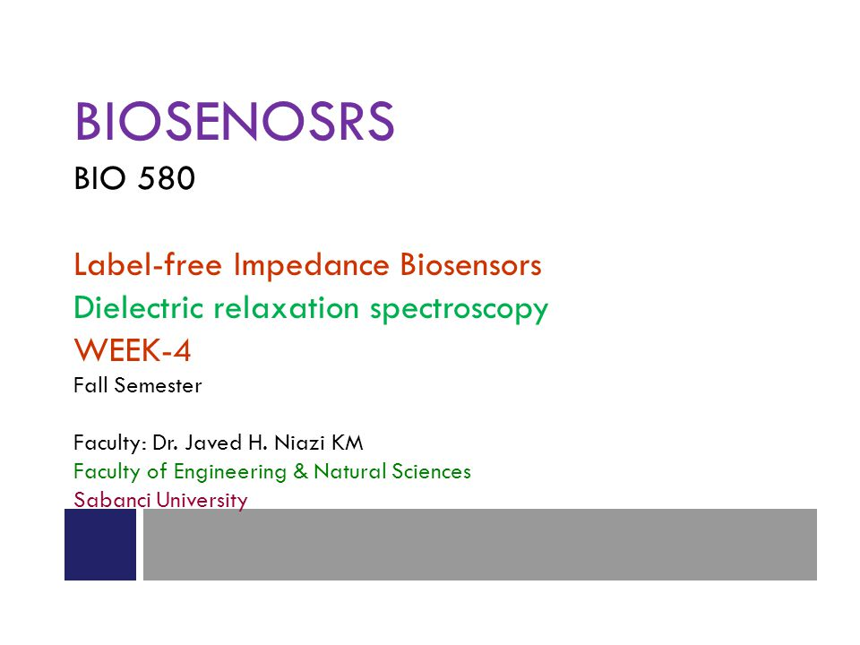 BIOSENOSRS BIO 580 Label-free Impedance Biosensors