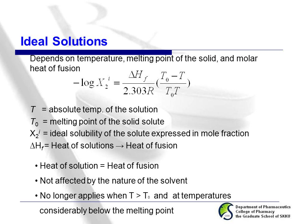 solubility and partition phenomena ppt video online download