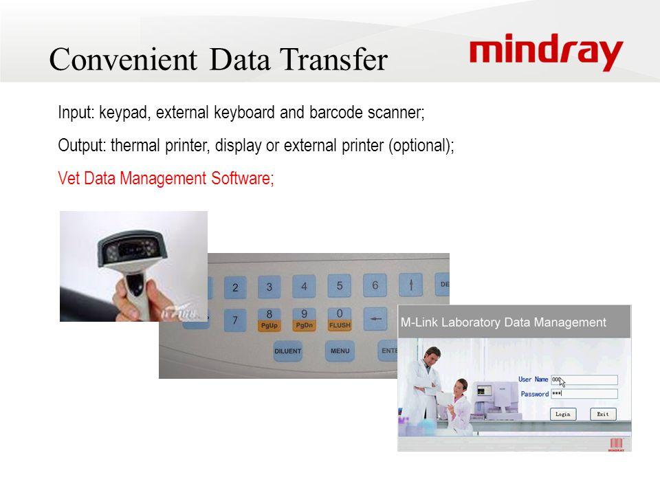 Convenient Data Transfer