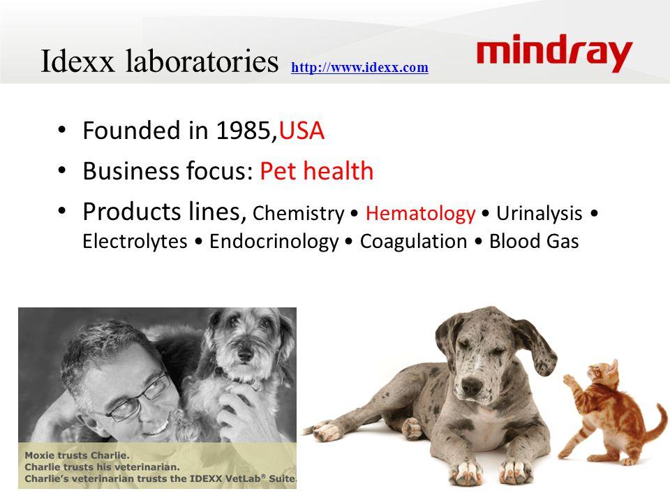 Idexx laboratories http://www.idexx.com