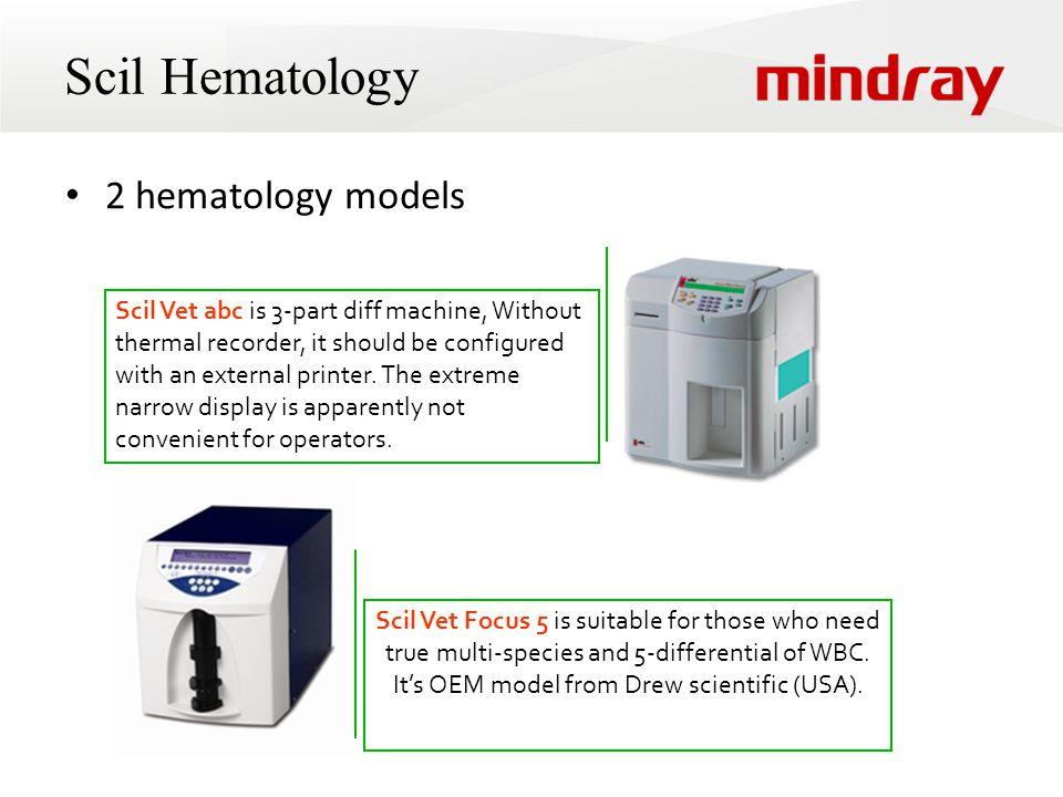 Scil Hematology 2 hematology models