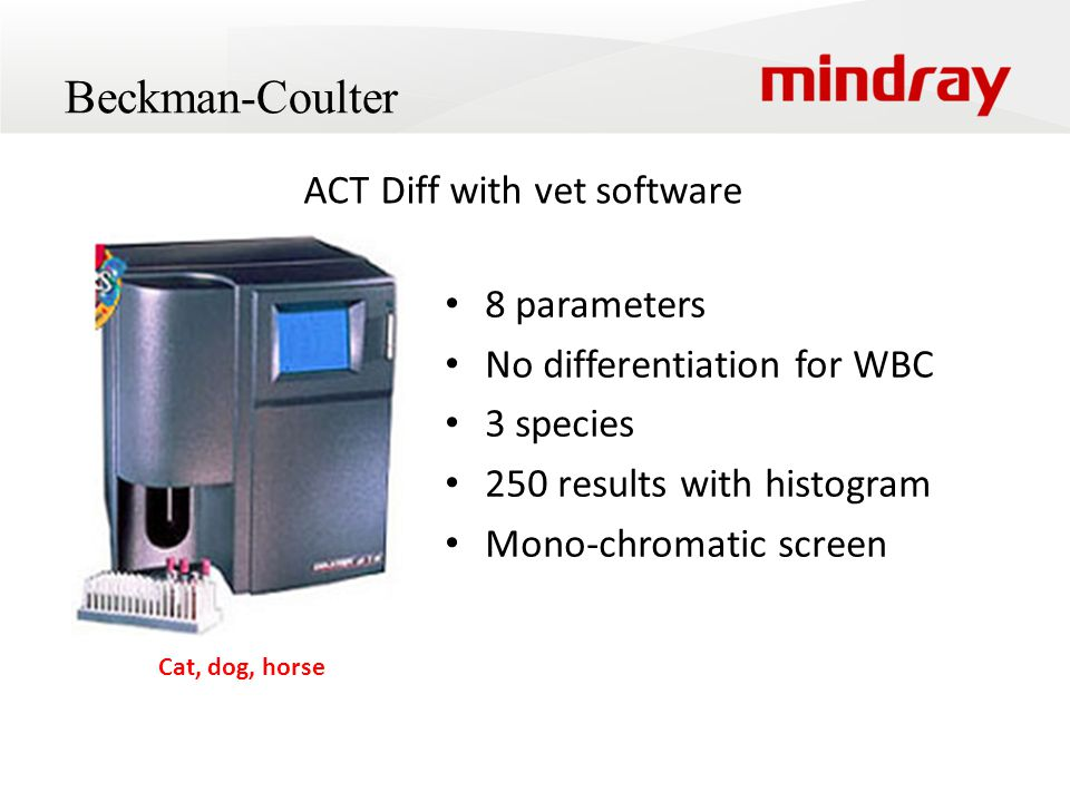 ACT Diff with vet software