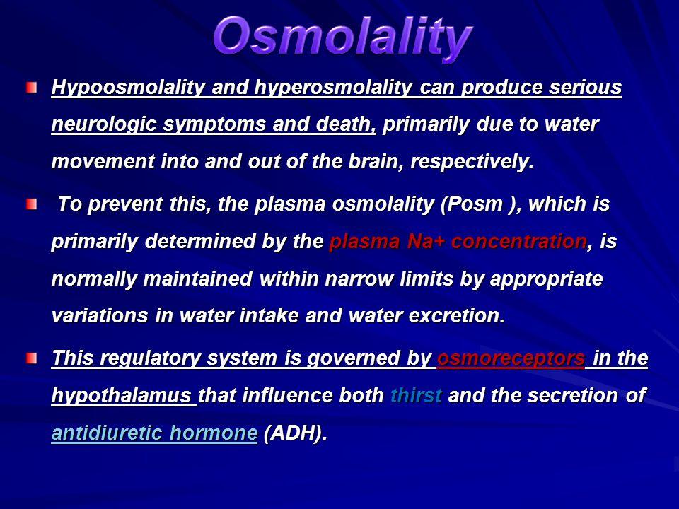 Osmolality