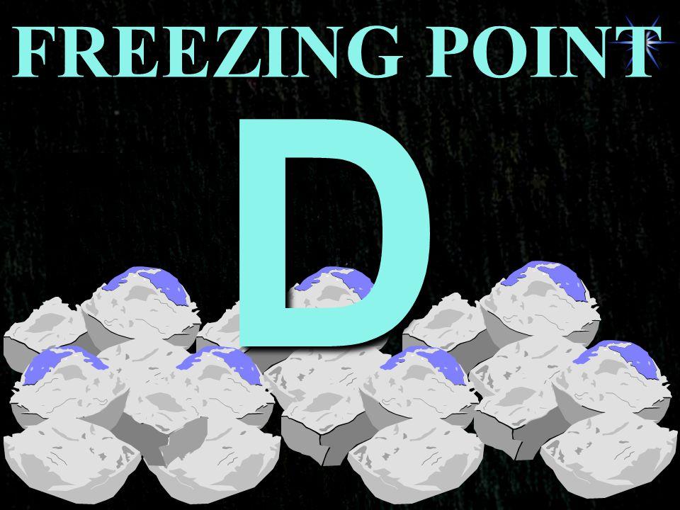 FREEZING POINT D