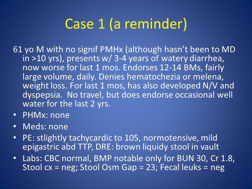 Case 1 (a reminder)