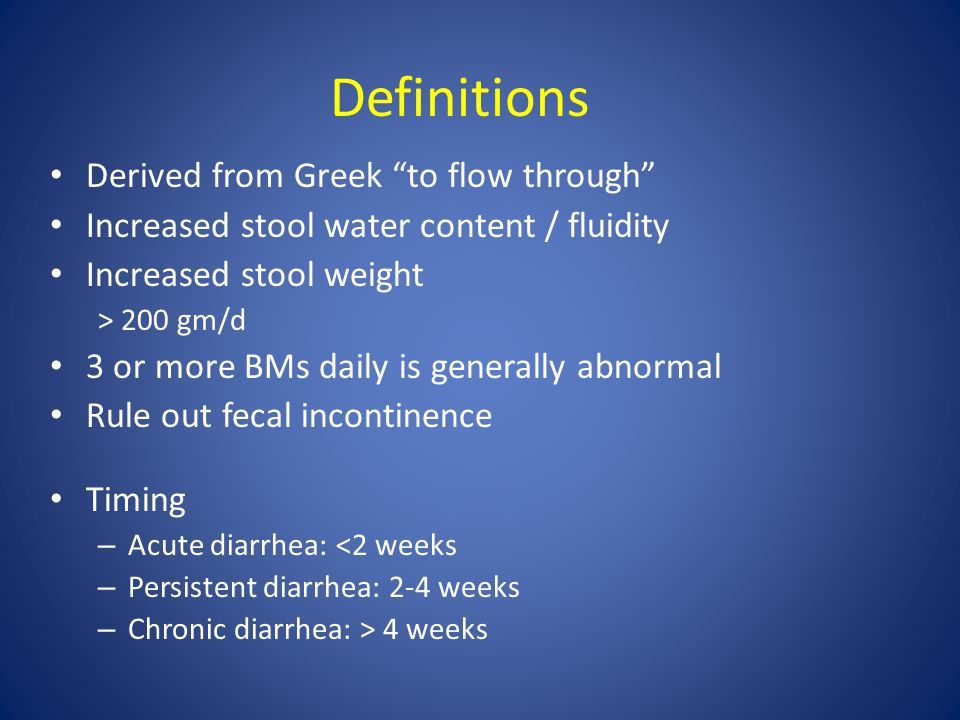 Definitions Derived from Greek to flow through