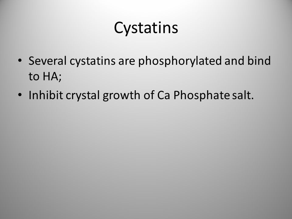 Cystatins Several cystatins are phosphorylated and bind to HA;