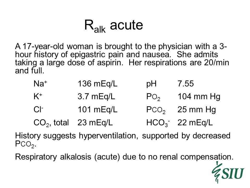 Ralk acute