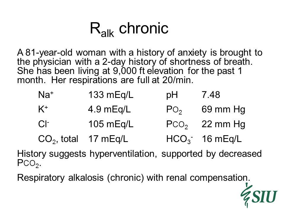 Ralk chronic