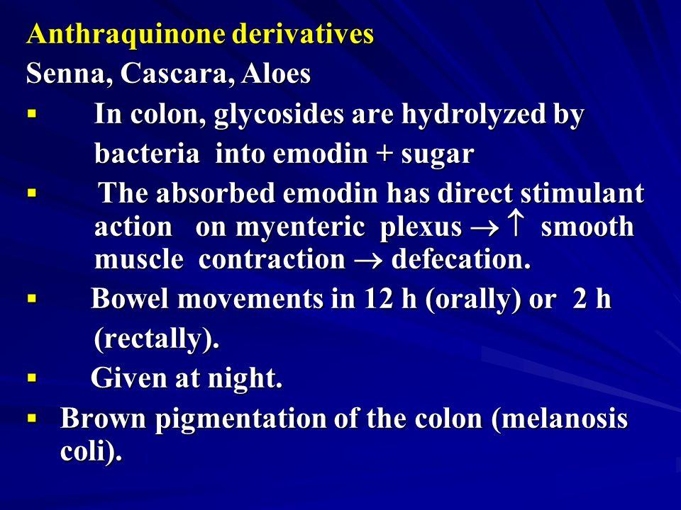 Anthraquinone derivatives