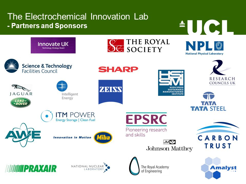The Electrochemical Innovation Lab