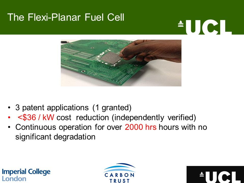 The Flexi-Planar Fuel Cell
