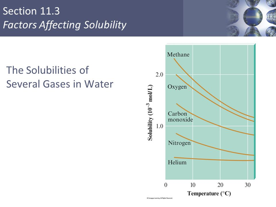 The Solubilities of Several Gases in Water