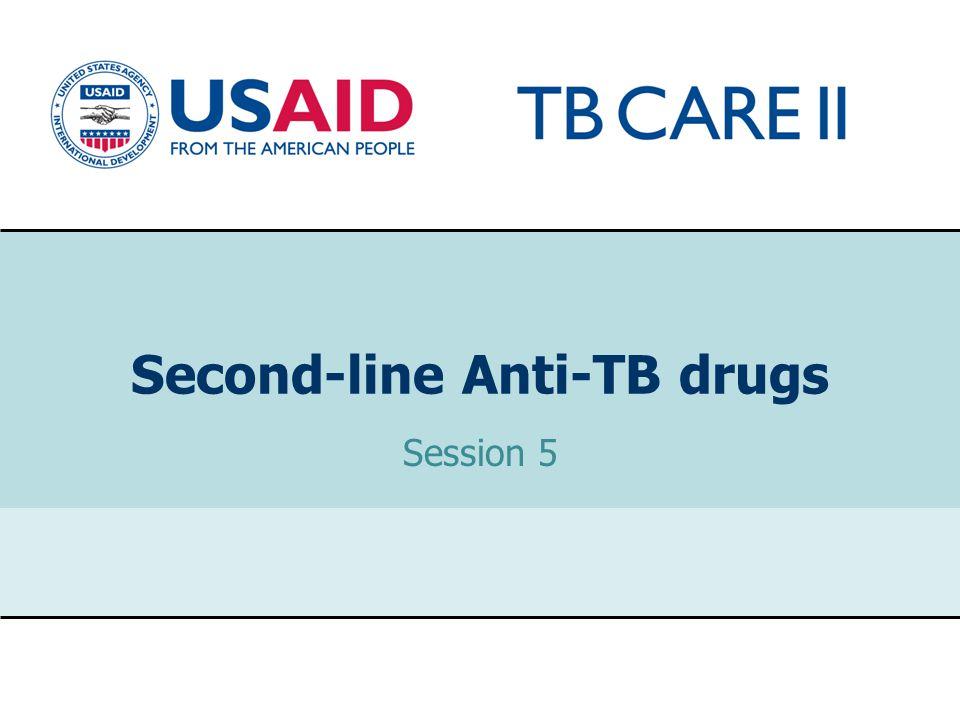 Second-line Anti-TB drugs