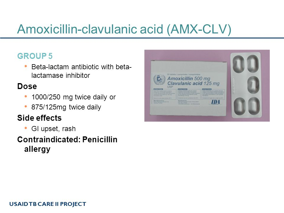Amoxicillin/Clavulanic acid Online Prescription