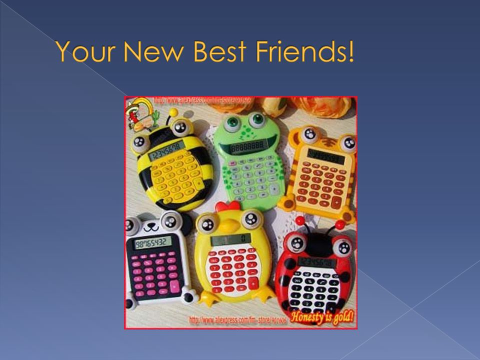 Your New Best Friends!