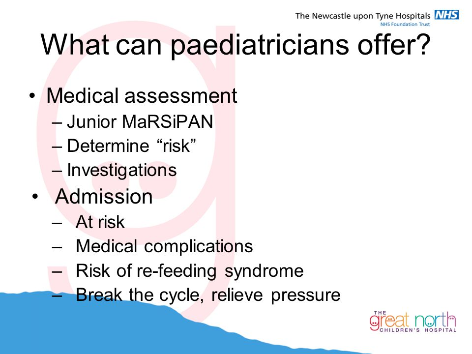 What can paediatricians offer