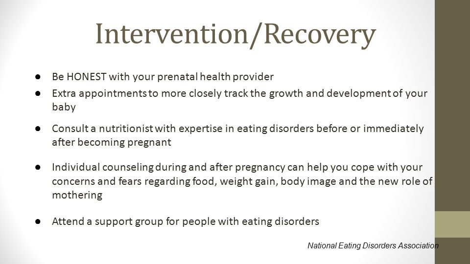 Intervention/Recovery