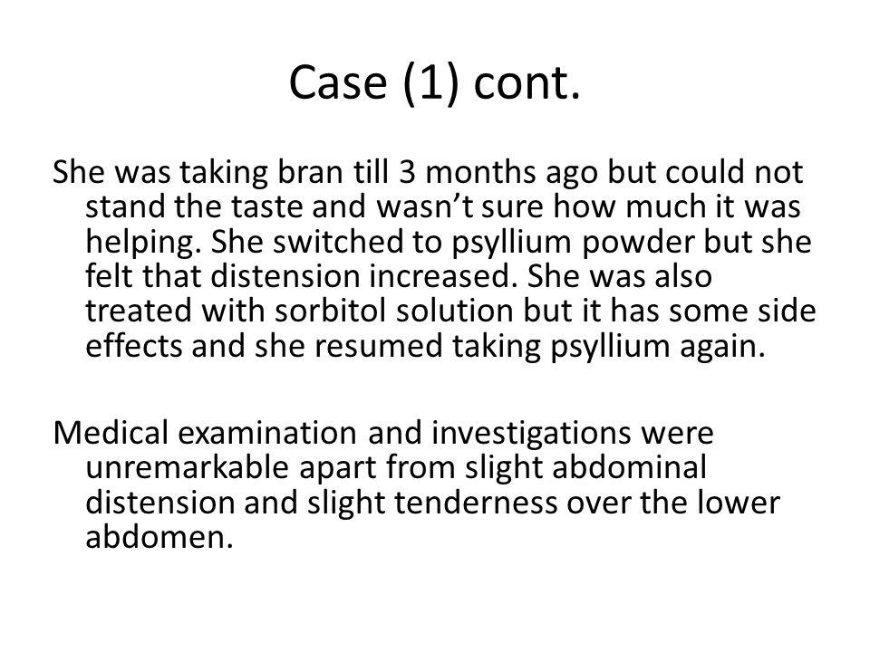Case (1) cont.
