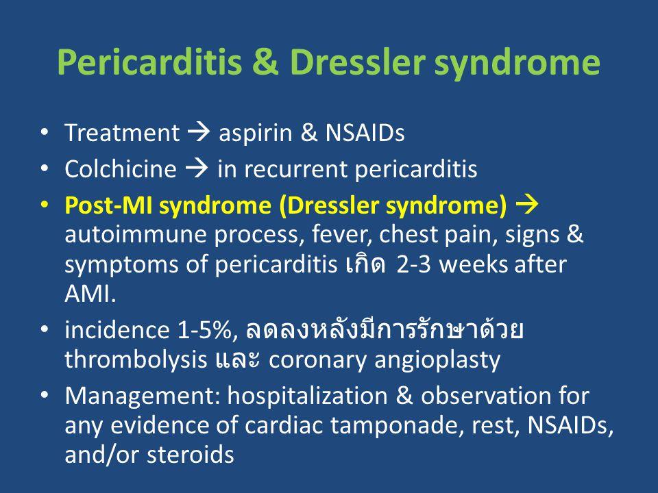 Pericarditis & Dressler syndrome